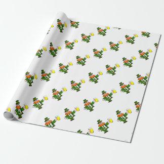 Leprechaun Wrapping Paper