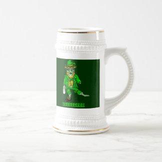leprechaun zombie wants beer beer stein