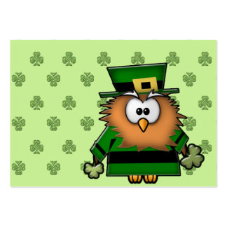 leprechowl business cards