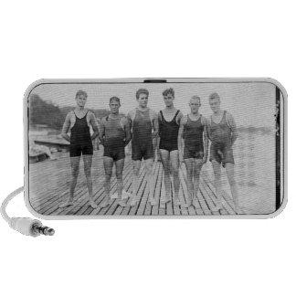 L'équipe de natation 1919 de Harvard ornent vos ha Haut-parleur Mp3