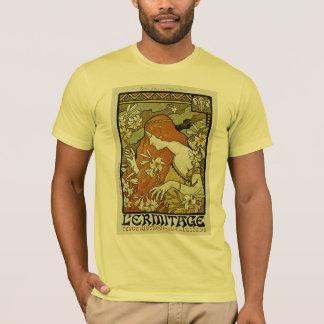 L'Ermitage Art Nouveau Floral T-Shirt