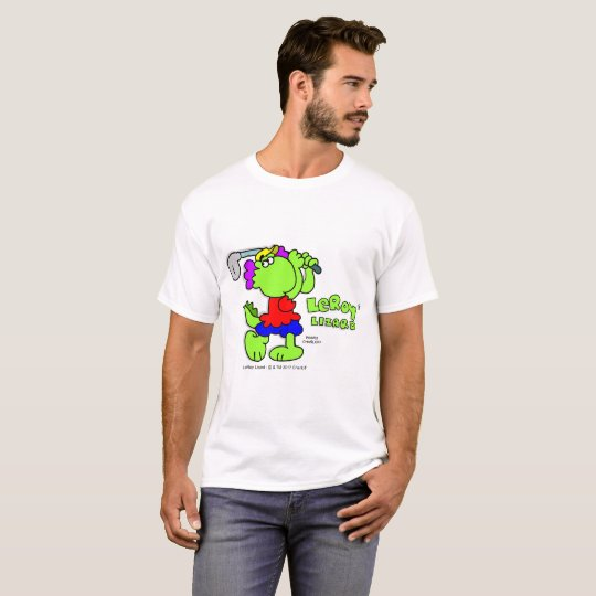 LeRoy Lizard Golf Swing T-Shirt