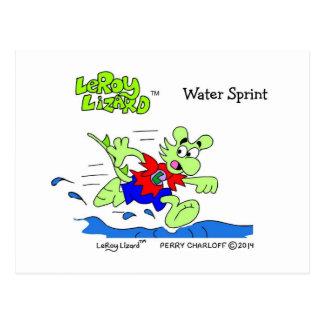 LeRoy Lizard Postcard