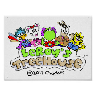 LeRoy's Treehouse Poster