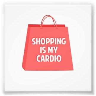 Les achats sont mon cardio- impressions photo