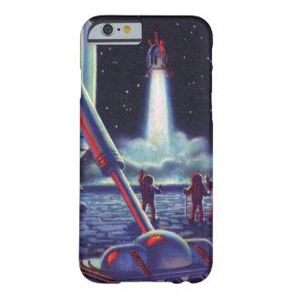 Les aliens vintages de la science-fiction saluent coque barely there iPhone 6