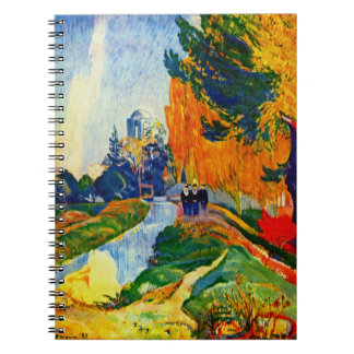 Les Alyscamps 1888 Spiral Notebook