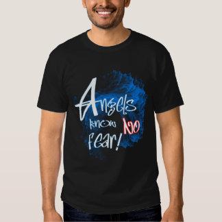 Les anges ne connaissent aucun T-shirt de crainte
