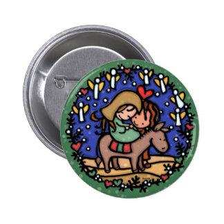 Les anges se réjouissent à sa naissance Jesus GRE Badges