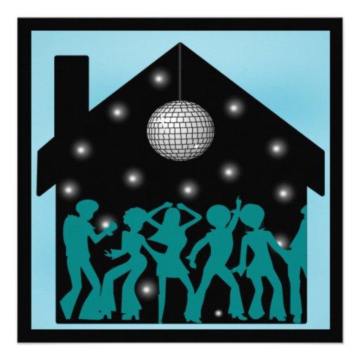 les années 70 partie de Chambre de thème de disco Bristols