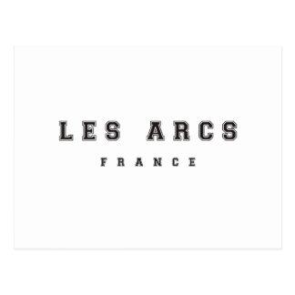 Les Arcs France Postcard