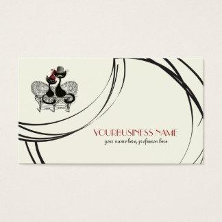 Les AristoChats Noirs de Paris Business Card