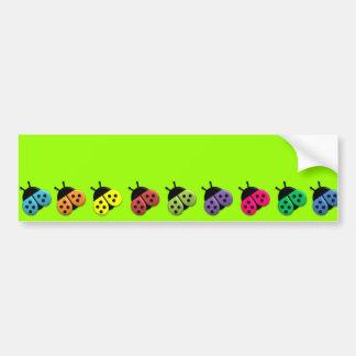 Les autocollants de LadyBag d'imaginaire de bonbon Autocollant De Voiture