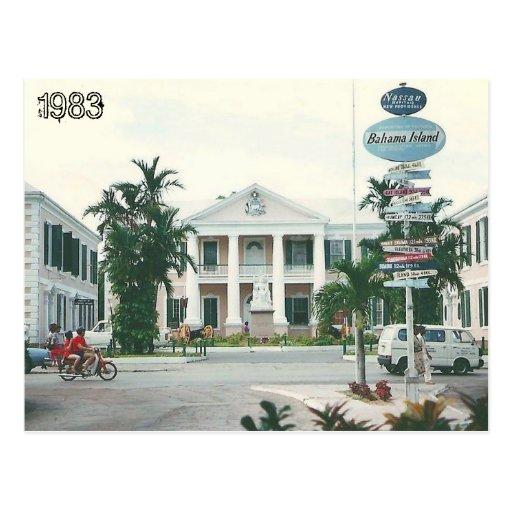 Les Bahamas vintages Cartes Postales
