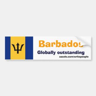Les Barbade sentimentales Autocollant De Voiture