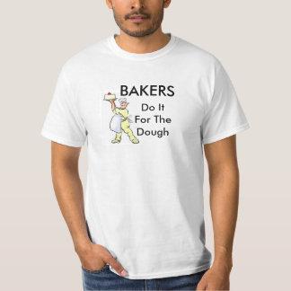 Les boulangers le font pour la pâte tshirt