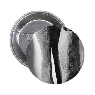 Les boutons noircissent une photo blanche macaron rond 5 cm
