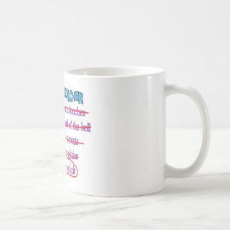 Les cadeaux drôles retirés de Mlle The Kids de pro Mug Blanc