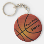 Les cadeaux pour le basket-ball Keychains d'entraî Porte-clé