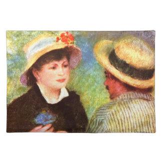 Les Canotiers by Pierre Renoir Placemat