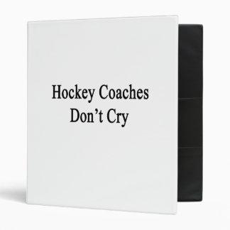 Les cars d'hockey ne pleurent pas