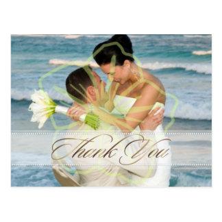 Les cartes postales de Merci de mariage insèrent