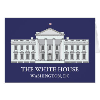Les cartes pour notes de la Maison Blanche