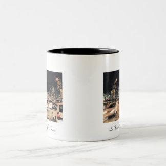 Les Champs-Elysees.  Paris, France. (mug) Two-Tone Coffee Mug