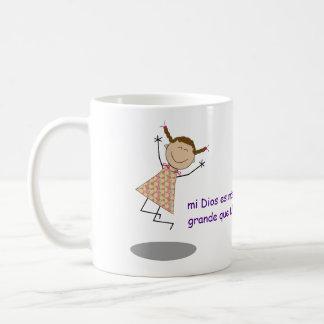 """Les """"chers problèmes, mon Dieu est plus grand que Tasses À Café"""