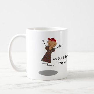 """Les """"chers problèmes, mon Dieu est plus grand que Mug À Café"""