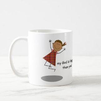 """Les """"chers problèmes, mon Dieu est plus grand que Mug"""