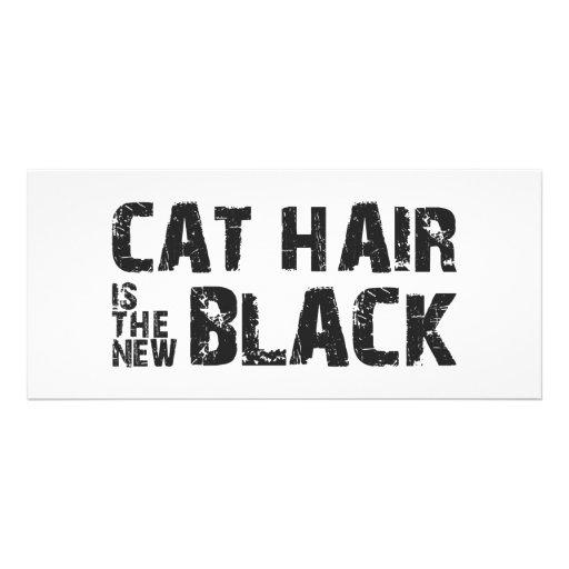 Les cheveux de chat sont le nouveau noir carte double en  couleur
