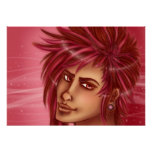 Les cheveux roses ne s'inquiètent pas