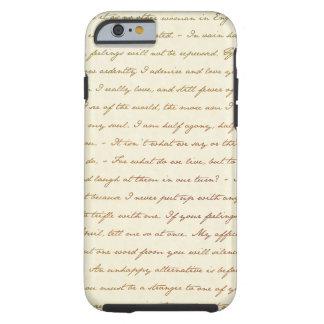 Les citations de meilleur de Jane Austen Coque Tough iPhone 6