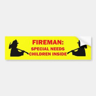 Les économies de pompier mon Special ont besoin de Autocollant De Voiture