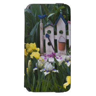 Les Etats-Unis, Pennsylvanie. Les iris de jardin Coque-portefeuille iPhone 6 Incipio Watson™
