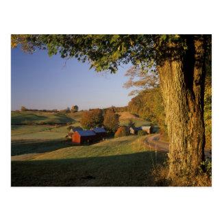 Les Etats-Unis, Vermont, Woodstock du sud, ferme Carte Postale
