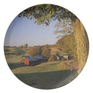 Les Etats-Unis, Vermont, Woodstock du sud, ferme d Assiettes Pour Soirée