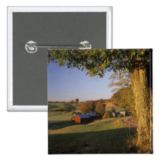 Les Etats-Unis, Vermont, Woodstock du sud, ferme d Pin's Avec Agrafe