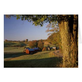 Les Etats-Unis, Vermont, Woodstock du sud, ferme d Cartes De Vœux