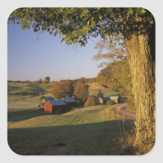 Les Etats-Unis, Vermont, Woodstock du sud, ferme Sticker Carré