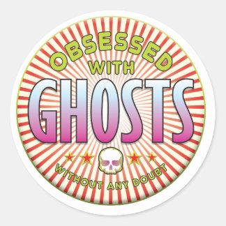 Les fantômes ont hanté R Adhésifs Ronds