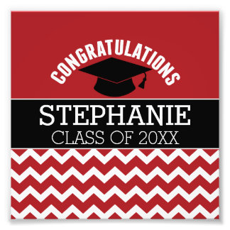 Les félicitations reçoivent un diplôme - photos sur toile