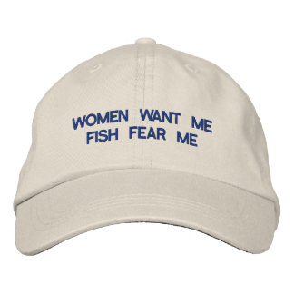 Les femmes me veulent casquette de baseball brodée