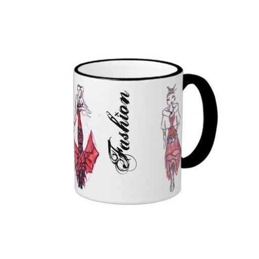 Les filles de mode, de danse et de styke mugs