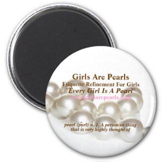 Les filles sont aimant de perles