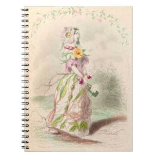 Les Fleurs Briar Rose Notebook