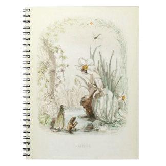 Les Fleurs Narcissus Notebooks