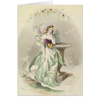Les Fleurs Pansy Card