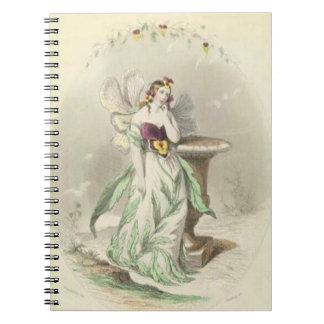 Les Fleurs Pansy Notebook